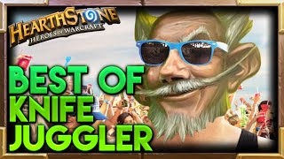 Knife Juggler Hearthstone Moments | Hearthstone Funny Lucky Best Plays Moments