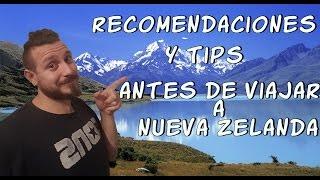 RECOMENDACIONES Y TIPS ANTES DE VIAJAR A NUEVA ZELANDA turismo