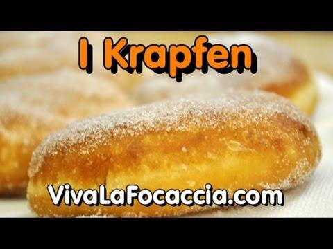 Ricetta Krapfen Bomboloni Fatti In Casa Youtube