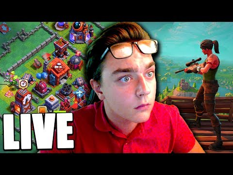 CLASH OF CLANS - RUSH CLASH OF CLANS TOP FR + AFTER SUR FORTNITE !