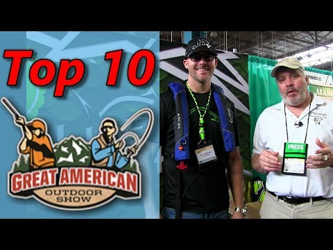 Top 10 Picks! 2019 Great American Outdoor Show - Fishing Hall