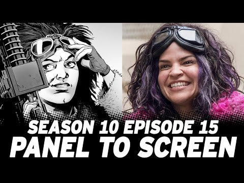 The Walking Dead Season 10 Episode 15 vs The Comics!