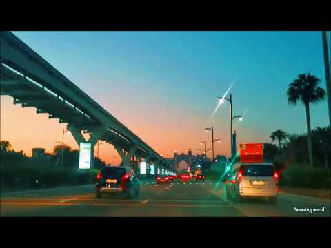 Dubai Roads / Atlantis/ Palm Jumeirah/ Underwater Tunnel  – UAE 2020