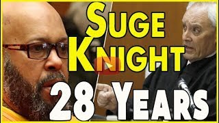 Judge Ronald Coen breaks down 28-year sentence during sentencing of Suge Knight
