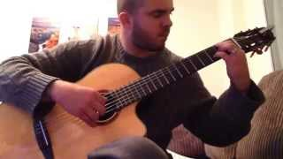 My solo guitar arrangement of Unconditionally (Katy Perry) performed and arranged by Alan Oliver