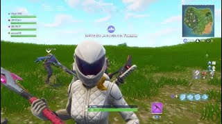 NOUVEAU WHITEOUT Skin Face Revealed Fortnite bataille royale