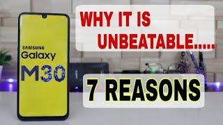 SAMSUNG GALAXY M30 IS UNBEATABLE - 7 REASONS
