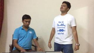 Bulleya reprise|Ae dil hai mushkil|Amit mishra|pritam|Aniket prabhu|keyboard cover by Naveen
