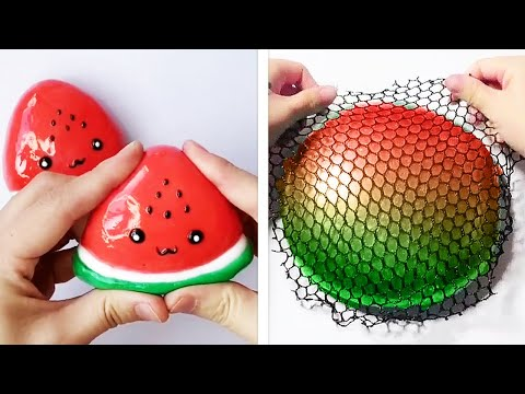 1 Hour of The Most Satisfying Slime ASMR Videos   Relaxing Oddly Satisfying Slime 2020 indir