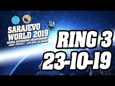 WAKO World Championships 2019 Ring 3 23/10/19