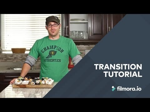 Transition Lesson For Cooking Videos | The Food Series – Filmora.io
