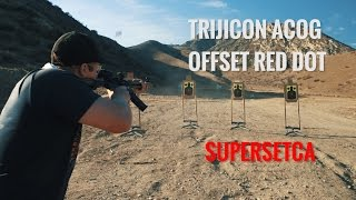 Trijicon ACOG and Offset Red Dot