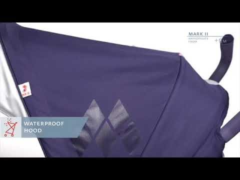 Maclaren Mark Ii Stroller Demo Youtube