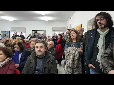 Homenaxe a Alfonso Blanco, coordinador de Xermolos, en Vilalba