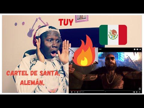 (Reaccion) Cartel de Santa, Aleman, Millonario, Adan Cruz- TUY Official Video!!
