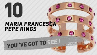 Maria Francesca Pepe Rings Top 10 Collection // UK New & Popular 2017