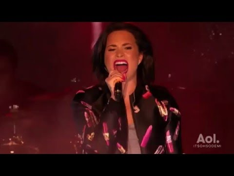 Demi Lovato - For You LIVE (AOL Access in NYC)