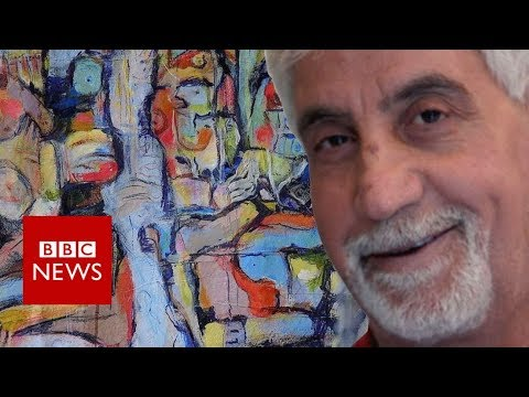 From Syria torture to UK art success - BBC News
