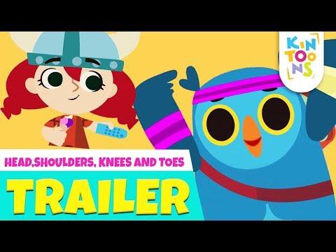 Head Shoulder Knees & Toes - Official Trailer | Releasing 9th September | Nursery Rhymes | KinToons thumbnail
