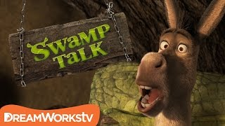 Shrek's Hiccup Cure | SWAMP TALK WITH SHREK AND DONKEY