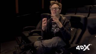 Guardians of the Galaxy Vol. 2 Writer/Director JAMES GUNN for 4DX: Tabbara Productions