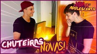 COMPREI UMA CHUTEIRA NOVA !! - VIDA DE ADOLESCENTE #13 [ REZENDE EVIL ]