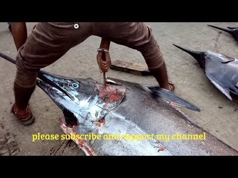 Worlds Largest Fish Chopping In 5 Minuts - Ultimate Fish Cutting Video 2018
