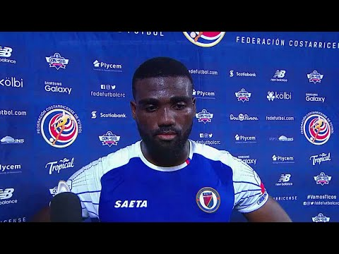 Duckens Nazon Comments After 1-1 Draw In Costa Rica