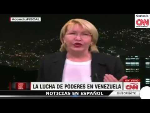 Fiscal Ortega en CNN: Es posible que ni 15% de los electores haya votado el 30 de julio