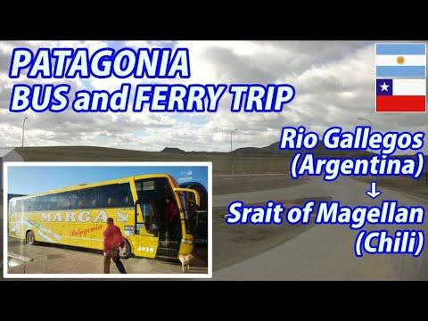 PATAGONIA BUS and FERRY TRIP Rio Gallegos → Strait of Magellan, Argentina to Chili
