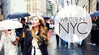 Winter in NYC | HAUSOFCOLOR