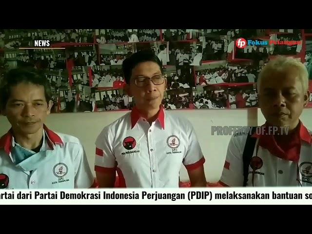 DPP Taruna Merah Putih Melalui DPC TMP Kota Tasikmalaya Bagikan 1000 Paket Sembako Pada Warga