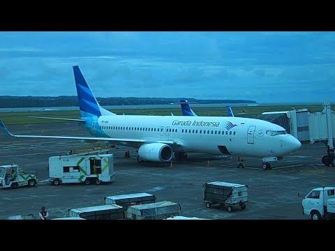 Garuda Indonesia Denpasar Bali to Jakarta B737-800 Economy Class