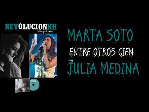 Marta Soto & Julia Medina - Entre Otros Cien   Letra (Lyric Video)