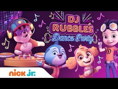 DJ Rubble NYE 2018 Dance Party Ft. PAW Patrol, Blaze, Sunny Day, Rusty Rivets & More! | Nick Jr.