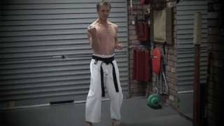 GoJu Ryu Sanchin Kata