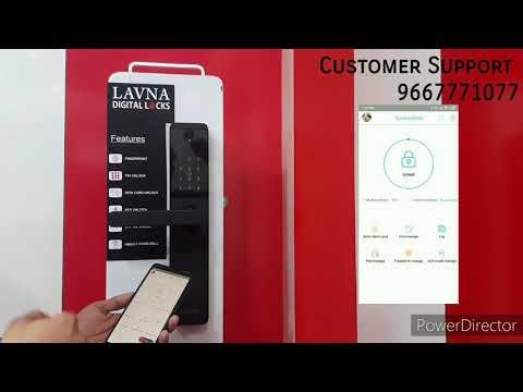 LAVNA  |  Digital Locks, Operational video of L-A24