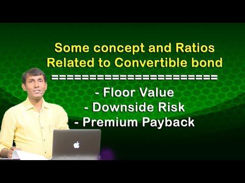 Concepts of Convertible bond ll Floor value ll Downside risk etc. ll CA/CMA Final SFM