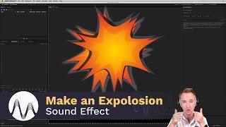 صوت انفجار تأثير البرنامج التعليمي