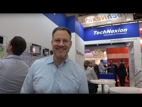 TechNexion Android Things dev kits, modules, embedded systems at the Embedded World 2018