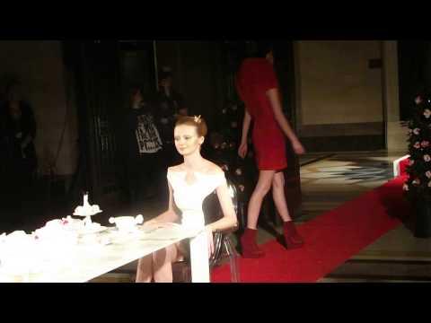 liz Black presentation London Fashion Week