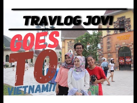 TRAVLOG JOVI GOES TO VIETNAM! SAIGON  - VINPEARL LAND NHA TRANG - HP ICE LOUNGE  - EON HELI BAR