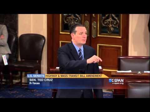 U.S. Senator Ted Cruz  Corporate Welfare