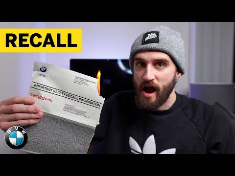 IS YOUR BMW BEING RECALLED?? Here's How it Works!