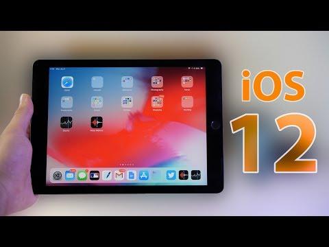 iOS 12 on iPad! (What's new?)