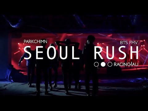 bts // seoul rush [racing!au]