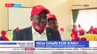 Baringo KANU members launch digital registration