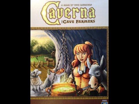 Настольная Игра Пещера: Гномы-Земледельцы (Caverna: The Cave Farmers) Часть 1. Расклад игры