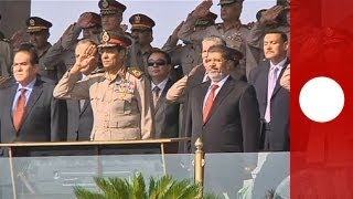 Egyptian army chief pursues firm line to avert