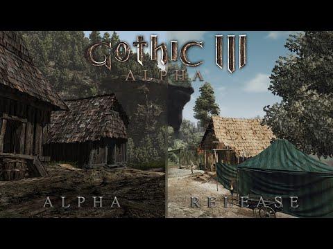 Gothic 3 - Alpha | Release comparison. Part I